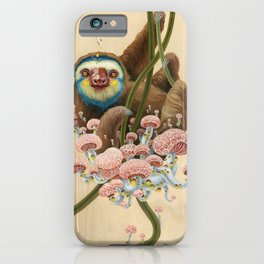 Silly Sloth iPhone Case