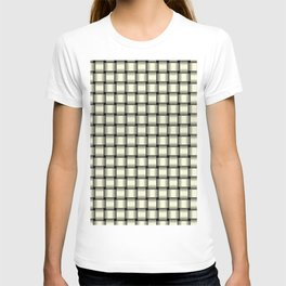 Small Light Yellow Weave T-shirt