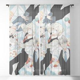 Yuri on Ice Sheer Curtain