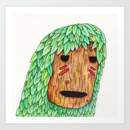 Wood Spirit Art Print