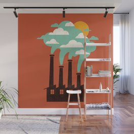 The Cloud Factory Wall Mural