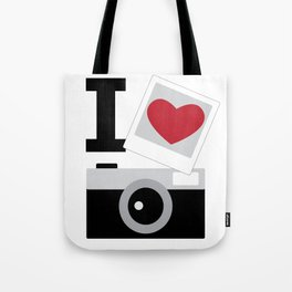 I love camera Tote Bag