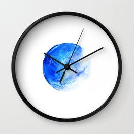 Blue Planet Wall Clock