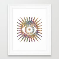 prism Framed Art Prints featuring PRISM by shutupbek