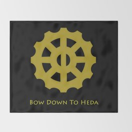 Bow Down To Heda 2 Throw Blanket