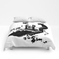 Panda Protest Comforters