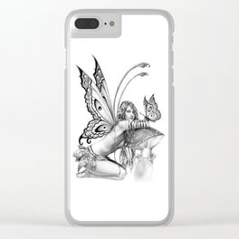 toadstool fairy Clear iPhone Case