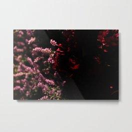 Fake Flower Facade Metal Print