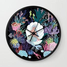 dark mermaids Kingdom Wall Clock