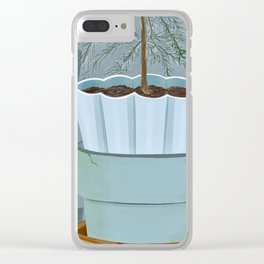 Stacked pots Clear iPhone Case