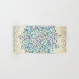 Mermaid Dreams Mandala Hand & Bath Towel