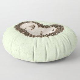 Plump Hedgehog Floor Pillow