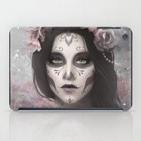 day of the dead iPad Cases featuring Day of the Dead by Nicolas Jamonneau