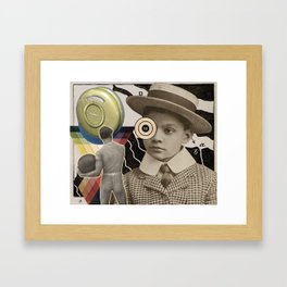 Intrusive Vein Framed Art Print
