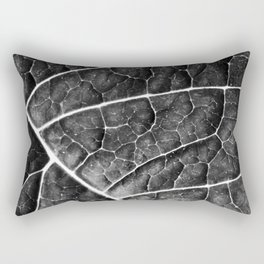 LEAF STRUCTURE no2a BLACK AND WHITE Rectangular Pillow