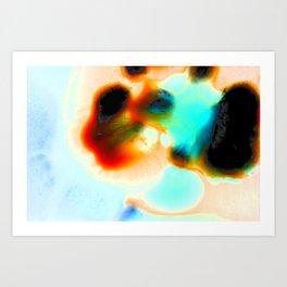 Cell Invasion Art Print