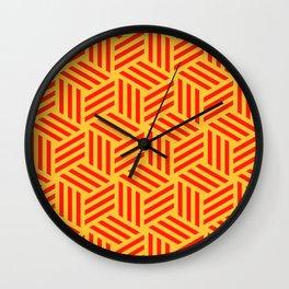 Wonder Weave Wall Clock
