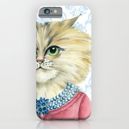 Vernonica Dressed for Luncheon iPhone Case
