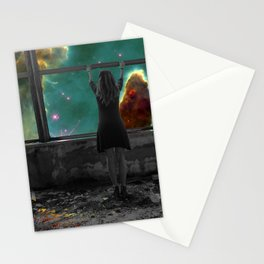 Window to Another World Stationery Cards
