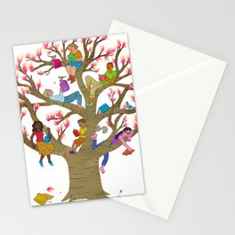 Tree Readers Stationery Cards