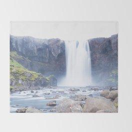 Silk flow Throw Blanket