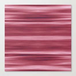 Abstraction Serenity in Rose Canvas Print