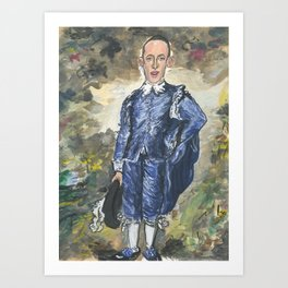 Stephen Miller, Blue Boy Art Print