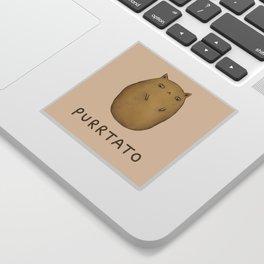 Purrtato Sticker