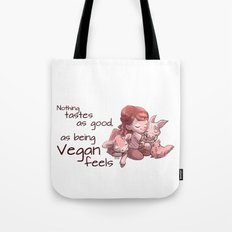Being Vegan Tote Bag