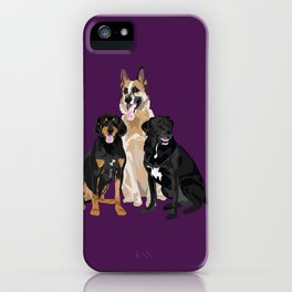 Tyson Tank and Wylie iPhone Case