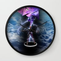 skeleton Wall Clocks featuring SKELETON by sametsevincer