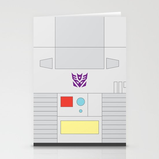 Megatron Minimalist Stationery Cards