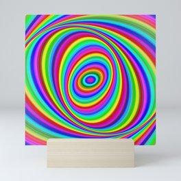 Rainbow Hypnosis Mini Art Print