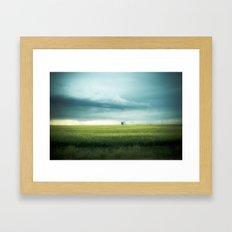 Alberta Prairies Framed Art Print