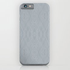 Art Deco Grey Silver Slim Case iPhone 6s