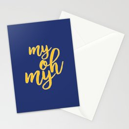 My Oh My Stationery Cards