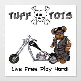 Tuff Tots Huggy Bear Canvas Print