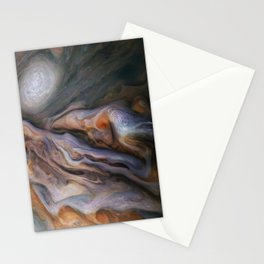 Jupiter's Magnificent Swirling Clouds Stationery Cards