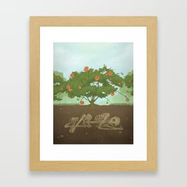 Rose Garden Framed Art Print