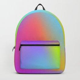 Rainbow gradient foil effect Backpack