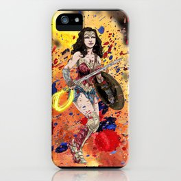 Color Splash WW iPhone Case