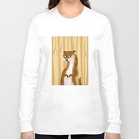 otter Long Sleeve T-shirts featuring Otter by makoshark