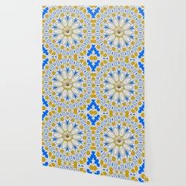 Daisy Chain Kaleidoscope A151 Wallpaper