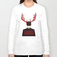 hannibal Long Sleeve T-shirts featuring Hannibal by Pixel Design