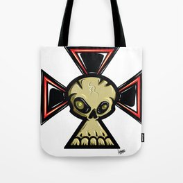 Skull Cross Tote Bag