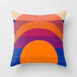 Spring- Pantone Warm color 06 Throw Pillow