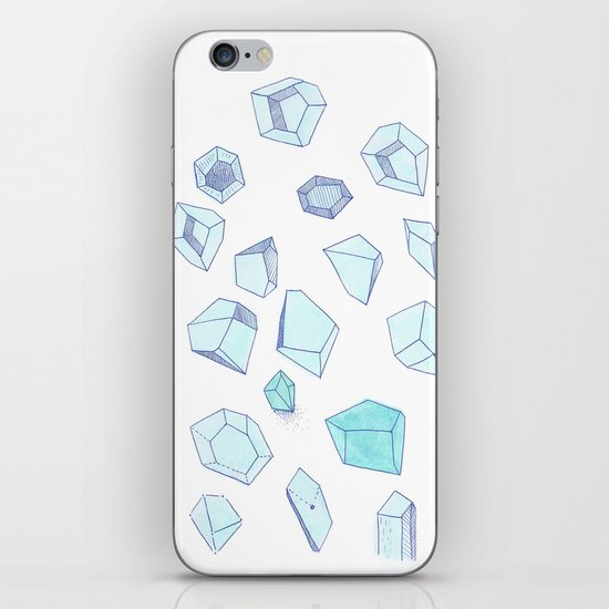 Gems II iPhone & iPod Skin
