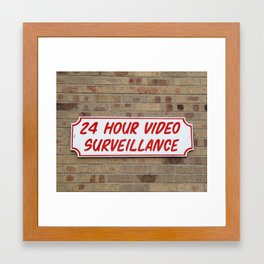 24 Hour; Minneapolis, 2013. Framed Art Print