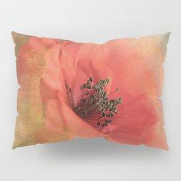 Vintage poppy 4 Pillow Sham