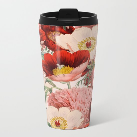 Vintage Garden #society6 Metal Travel Mug